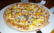 Mango Salsa Pizza great for miracle fruit