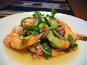 Sweet Thai Shrimp Salad